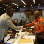 President Akufo-Addo commends Cwesi Oteng's influence in the Music Industry [Anthems Album].